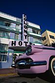 Pink Cadillac, Colony Hotel, Ocean Drive, Miami Beach Florida, USA