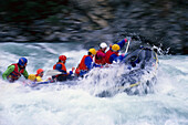Rafting, Sports