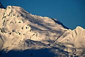 Snowcovered mountain, Vorarlberg, Austria
