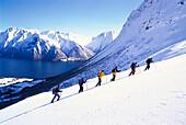 Skitour, Sports