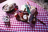 Typical Snack, Lech am Arlberg Austria