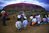 Japanese Tourists, Ayers Rock