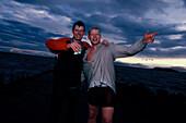 Betrunkene Fischer, Island fr