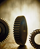 Gears, abstract, Stillife