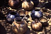 View at Zulu pottery, Shakaland, Kwazulu Natal, South Africa, Africa