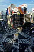 Vorplatz am Bahnhof Ginza, Tokyo Japan