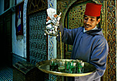 Teahouse, Fes, Morocco, North Africa