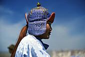 Lady rider, Nadaam festival, Ulan Bator, Mongolia Asia