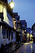 Lane in Shrewsbury, Shropshire, Shrewsbury Europe, England