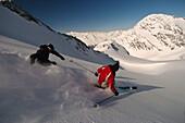 Skiing, Austria, Stubaital