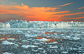 Glacier and typical landscape, Ilulissat, Greenland