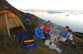Camping, Ilulissat, Grönland