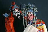 Chinese Opera, performers, Taipei, Taiwan Asia