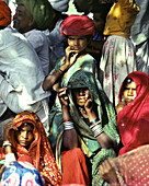 Village festival near Jaisalmer, Jaisalmer, Rajasthan India, asia