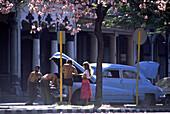 Oldtimer breakdown, Havana, Cuba Carribean