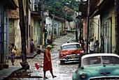 Streetlife in Trinidad, Cuba, Carribean