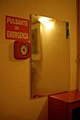 Fire alarm button, Rome, Italy