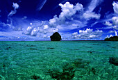 Untouched islands in the Palawan archipelago, Palawan Island, Philippines