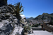 View from Greek Theater, Taormina, Sicily, Italy