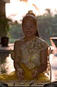 Traditional Thai Music, Banyan Tree Resort Lobby, Phuket, Thailand