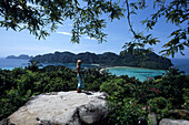 View over Ko Phi Phi, Ko Phi Phi Island, Thailand
