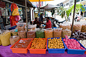 Sweets & Nut Stand, George Town, Penang, Malaysia, Asia