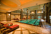 Empire Hotel Indoor Pool, The Empire Hotel & Country Club, Brunei Darussalam, Asia