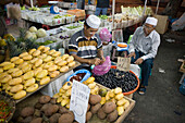Night Market Vegetable Stand, Pasar Malam Night Market, Bandar Seri Begawan, Brunei Darussalam