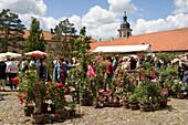 Gardening Festival at Schloss Fasanerie Castle, Near Fulda, Hesse, Germany