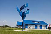 Point Alpha Border Memorial, House on the Border, near Rasdorf, Rhoen, Hesse & Thuringia, Germany
