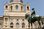 Part of Maria Thersia Statue before Art History Museum, Vienna, Austria