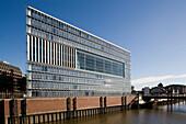 Office building at Hafencity, Hamburg, Germany