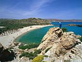 Pal beach of Vai, Vai Finikodasos, Crete, Greece