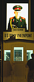 Former Checkpoint Charlie, Berlin, Germany