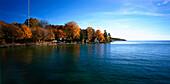 Starnberger See in Autumn, Upper Bavaria, Germany