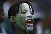 African football fan
