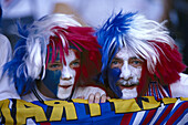 Two french football fans