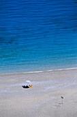 Beach of Agios Minas, Scarpanto, Dodecanese, Greece
