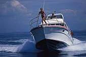 Yacht, Isola di Maddalena, Sardinia, Italy, Europe