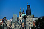 Male Strana Tower, Charles Bridge, Prague, Czechia