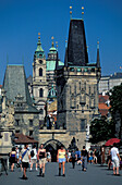 Male Strana Tower, Charles Bridge, Prague Czechia