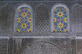 Windows of Medersa Bou Iniana, Fes, Morocco