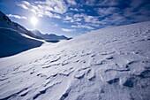 Winter scenery, Kuehtai, Tyrol, Austria