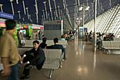 Pudong Airport Shanghai, China,Passenger, Pudong International Airport, Departure Lounge, Terminal