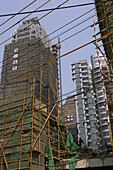 high rise under construction, Shanghai