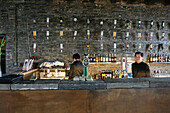 Bar in Souzhou Creek Art Center,old flour factory at Souzhou Creek, nowadays art center and bars, textile factory