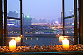 window view, Souzhou Creek Art Center, Shanghai, China
