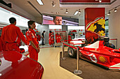 Ferrari Shop ,Ferrari, Xintiandi, Showroom, salesmen, racing car, red