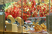 gold shop, old town,Gold, jewellery, display, window