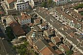 Jewish quarter, Hangkou,das ehemalige jüdische Viertel im Stadtteil Hongkou, Zhuoshan Lu, Klein-Wien, in dieses Gebiet kamen bis 1941 ca 18000-19000 deutsche Juden,denn Shanghai war aufgrund des internationalen Status letztlich der einzige Ort, an den man